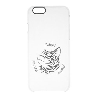 Animal Rescue Clear iPhone 6/6S Case