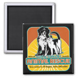 Animal Rescue Dog and Cat Magnet