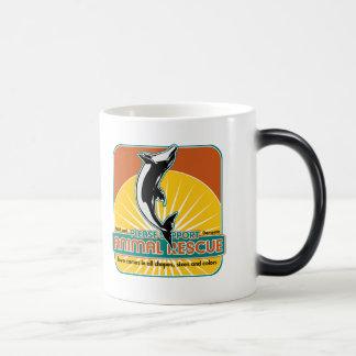 Animal Rescue Dolphin 11 Oz Magic Heat Color-Changing Coffee Mug