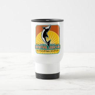 Animal Rescue Dolphin Travel Mug
