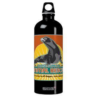 Animal Rescue Fur Seal Aluminum Water Bottle