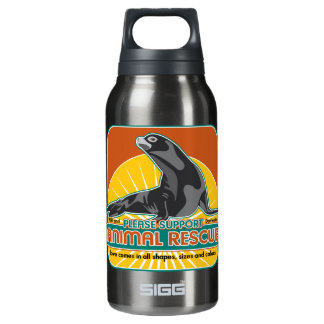 Animal Rescue Fur Seal Insulated Water Bottle