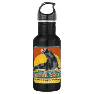 Animal Rescue Fur Seal Stainless Steel Water Bottle