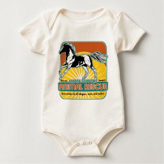 Animal Rescue Horse Baby Bodysuit