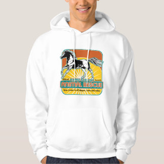 Animal Rescue Horse Hoodie