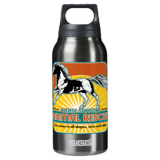 Animal Rescue Horse Insulated Water Bottle