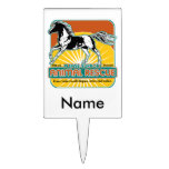 Animal Rescue Horse Rectangular Cake Toppers