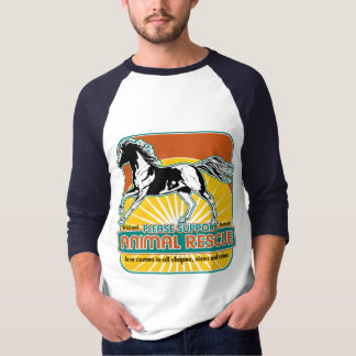 Animal Rescue Horse T-Shirt