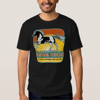 Animal Rescue Horse Tee Shirt