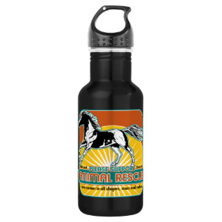 Animal Rescue Horse Water Bottle