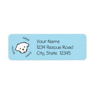 Animal Rescue Label