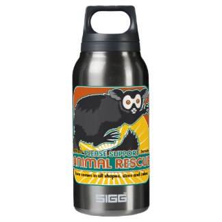 Animal Rescue Lemur Insulated Water Bottle