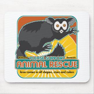 Animal Rescue Lemur Mouse Pad
