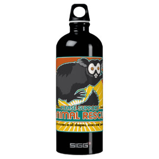 Animal Rescue Lemur Water Bottle
