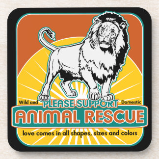 Animal Rescue Lion Coasters