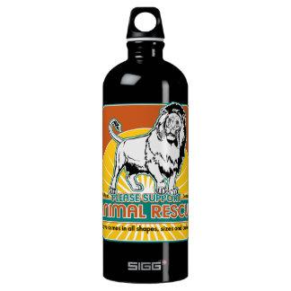 Animal Rescue Lion Water Bottle