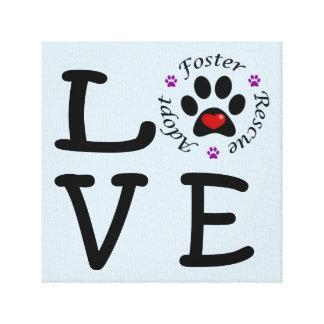 Animal Rescue Love Canvas Print