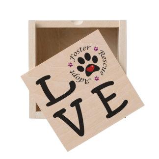 Animal Rescue Love Keepsake Box