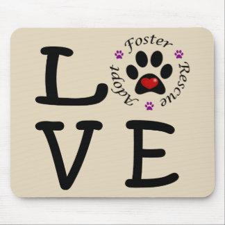 Animal Rescue Love Mousepad
