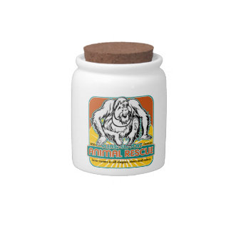 Animal Rescue Orangutan Candy Dish