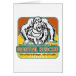 Animal Rescue Orangutan Cards