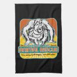 Animal Rescue Orangutan Hand Towels