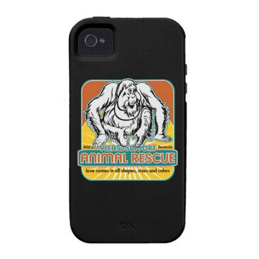 Animal Rescue Orangutan iPhone 4/4S Cover