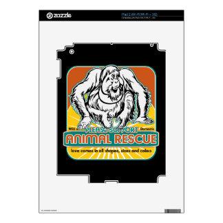Animal Rescue Orangutan Decal For The iPad 2