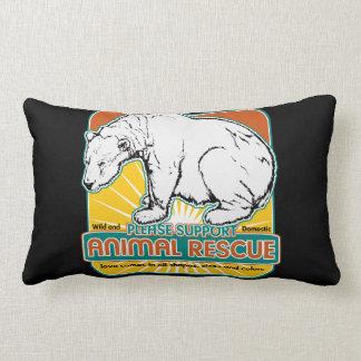 Animal Rescue Polar Bear Throw Pillows