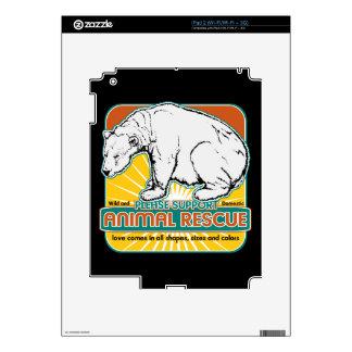 Animal Rescue Polar Bear iPad 2 Decal