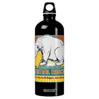 Animal Rescue Polar Bear Water Bottle