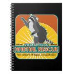 Animal Rescue Raccoon Journal