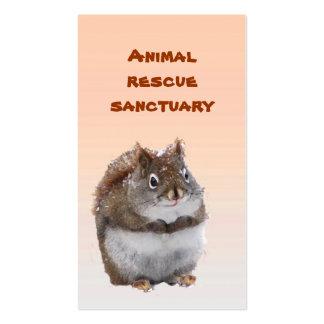 Animal Rescue Sanctuary Business Card