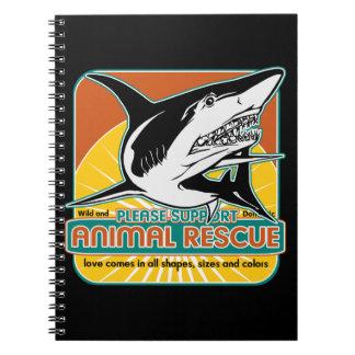 Animal Rescue Shark Notebook