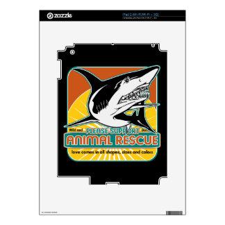 Animal Rescue Shark iPad 2 Decals