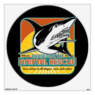 Animal Rescue Shark Wall Graphics