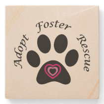 Animal Rescue Stone Coaster