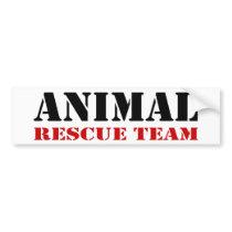 Animal Rescue Team Bumper Sticker