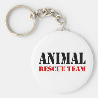 Animal Rescue Team Gift Items Keychain