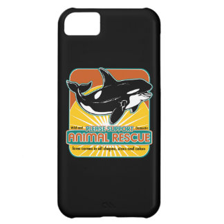 Animal Rescue Whale Cover For iPhone 5C