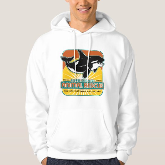 Animal Rescue Whale Hoodie