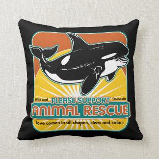 Animal Rescue Whale Pillows