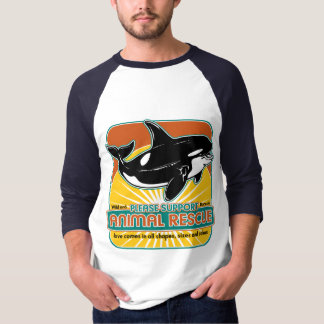 Animal Rescue Whale Tee Shirt