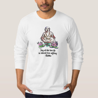 Animal Rights Buddha Quote T-Shirt