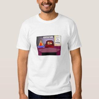 Animal Rights Cartoon T-shirt