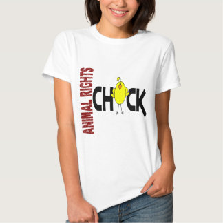 Animal Rights Chick 1 T-shirt