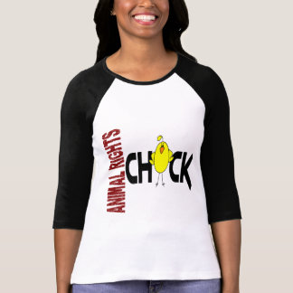Animal Rights Chick 1 T Shirts
