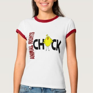 Animal Rights Chick 1 zazzle_shirt