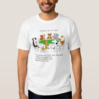 Animal rights. Cows friendship: A friend in need. T Shirt