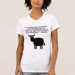 Animal Rights Gandhi Quote In Spanish With Bull T Shirt